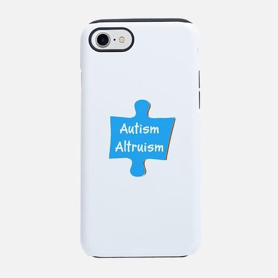 Practice Autism Altruism Puz iPhone 8/7 Tough Case