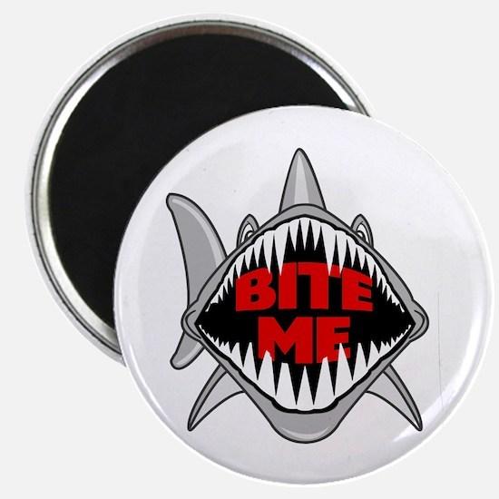 Bite Me Shark Magnet