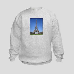 Eiffel Tower Kids Sweatshirt