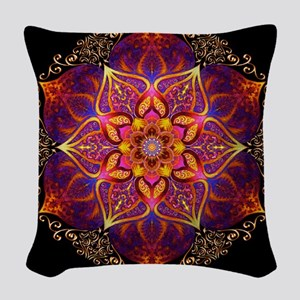 Beautiful Mandala Woven Throw Pillow