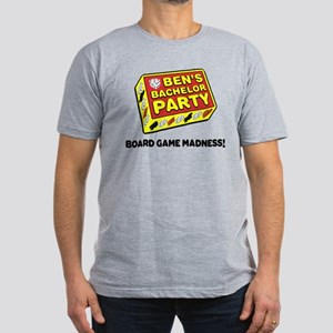 Ben's Bachelor Party Men's Fitted T-Shirt (dark)