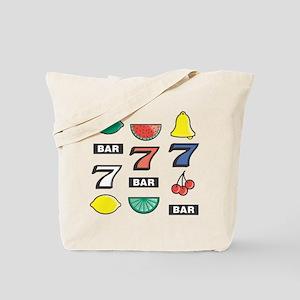 777 Cherries, Bars, & Bells Tote Bag