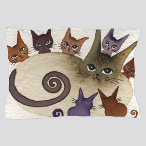 Florida Stray Cats Pillow Case