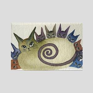 Missouri Stray Cats Rectangle Magnet