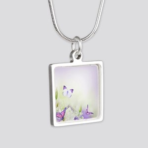 Flowers and Butterflies Necklaces