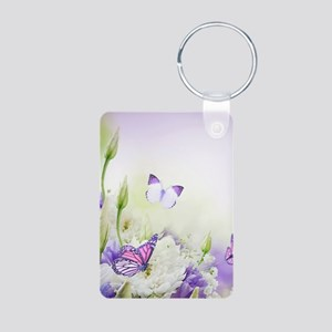 Flowers and Butterflies Keychains