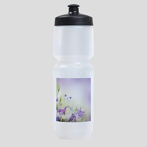 Flowers and Butterflies Sports Bottle