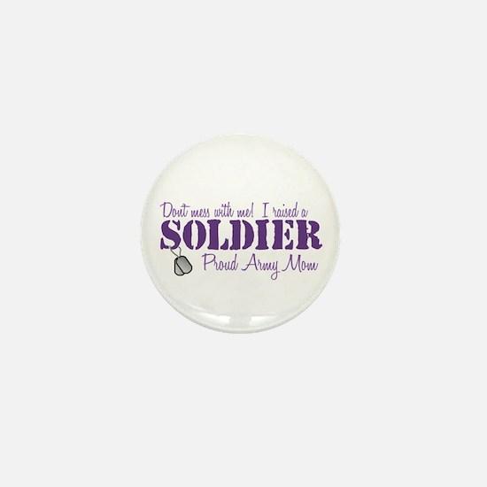 Army Mom Mini Button