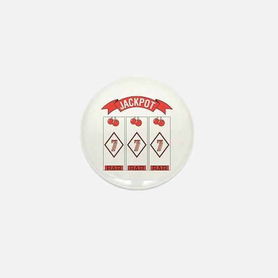 Jackpot 777 (Red) Mini Button