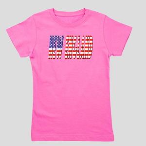 Patriotic New England Girl's Tee