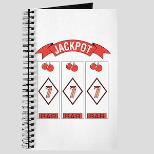 Jackpot 777 (Red) Journal