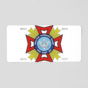 Post 327 logo Aluminum License Plate