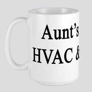 Aunt's Future HVAC & R Tech  Large Mug