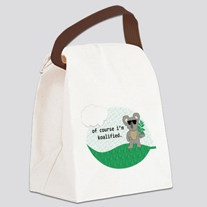 Koalified Canvas Lunch Bag
