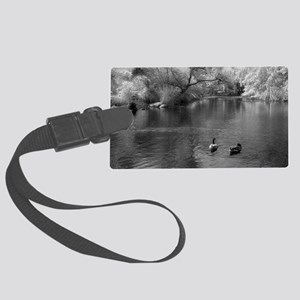 On The Lake Luggage Tag