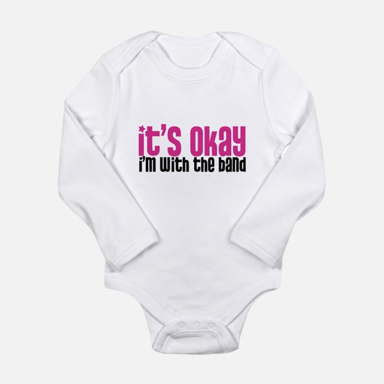 Cute Jazz Long Sleeve Infant Bodysuit