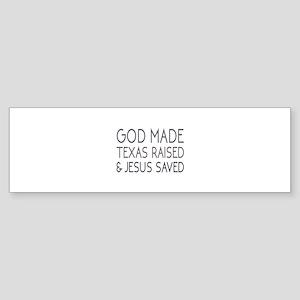 God Made Sticker (Bumper)