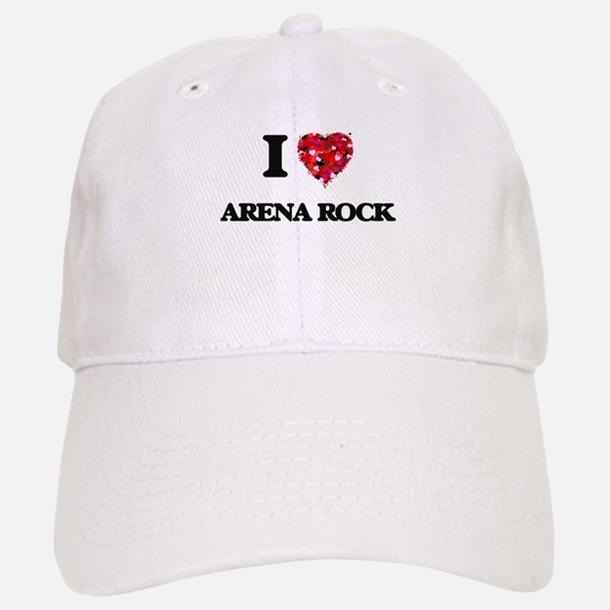 I Love My ARENA ROCK Baseball Baseball Cap