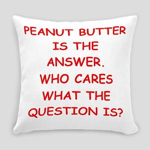 PEANUT BUTTER Everyday Pillow