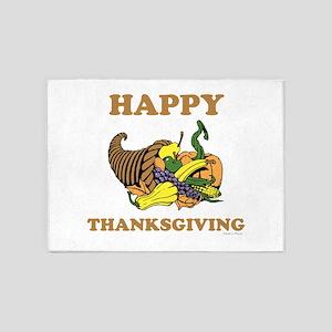 Thanksgiving 5'x7'Area Rug