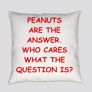 peanut Everyday Pillow