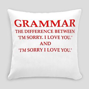 grammar Everyday Pillow
