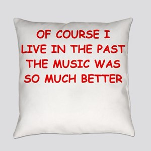 past Everyday Pillow