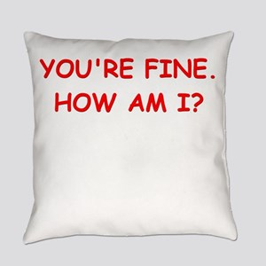 psych joke Everyday Pillow