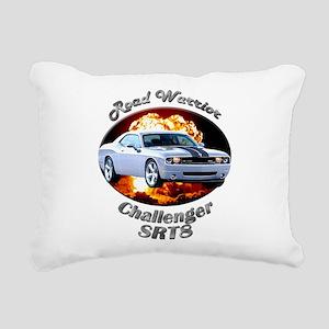 Dodge Challenger SRT8 Rectangular Canvas Pillow
