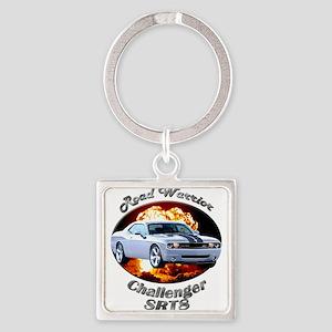 Dodge Challenger SRT8 Square Keychain