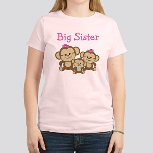 Big Sister With Siblings Women's Light T-Shirt