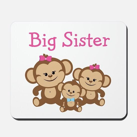 Big Sister With Siblings Mousepad