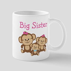 Big Sister With Siblings Mug Mugs