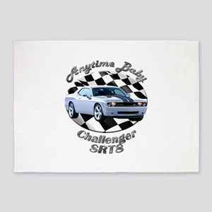 Dodge Challenger SRT8 5`x7`Area Rug