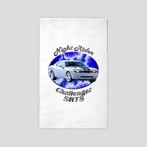 Dodge Challenger SRT8 Area Rug