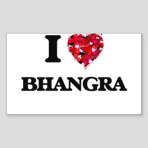 I Love My BHANGRA Sticker