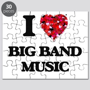 I Love My BIG BAND MUSIC Puzzle