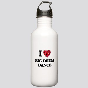 I Love My BIG DRUM DAN Stainless Water Bottle 1.0L