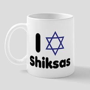 i heart shiksas Mug