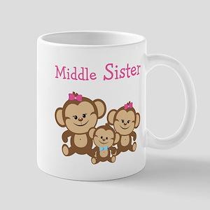 Middle Sis W. Siblings Mug Mugs