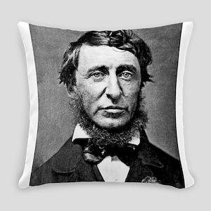 henry david thoreau Everyday Pillow