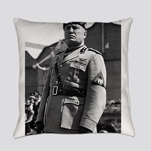 benito mussolini Everyday Pillow