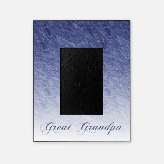 Great grandpa Marble Picture Frame