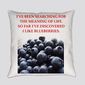 blueberries Everyday Pillow