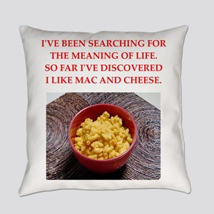 macaroni and cheese Everyday Pillow