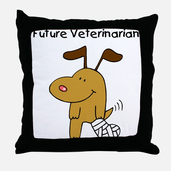 Future Veterinarian Throw Pillow