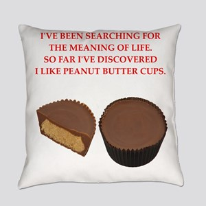 peanut butter cup Everyday Pillow