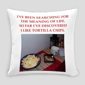 tortilla chips Everyday Pillow