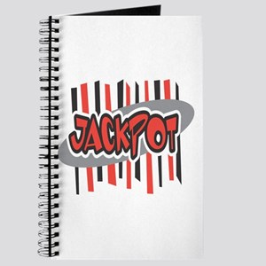 Jackpot (Black & Red) Journal