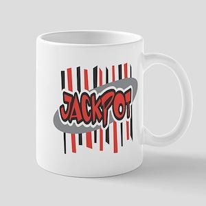 Jackpot (Black & Red) Mug